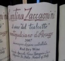 Cantina Zaccagnini Montepulciano d'Abruzzo – Forgettable