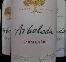 Viña Seña Carménère Arboleda
