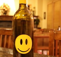 Oreana Syrah Project Happiness – Turn that smile upside down :-(