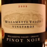 2008 Willamette Valley Vineyards Pinot Noir – Smoooooooth