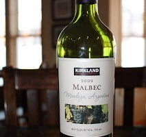 Kirkland Signature Malbec 2009 – Get It While You Can