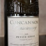 Concannon Vineyard Conservancy Petite Sirah Livermore Valley – My Favorite Petite Sirah