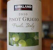 Kirkland Signature Friuli Grave Pinot Grigio 2010 – A Swing And A Miss