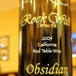 2009 Rock Wall Obsidian Black Rock Ranch – A Rich, Almost Decadent Fruit Bomb That Just Goes A Little Too Far