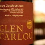 2008 Glen Carlou Grand Classique – A Bordeaux Style Blend From South Africa