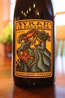 Bonny Doon Vineyard Le Pousseur Syrah
