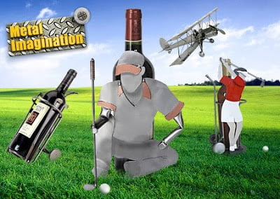 golf-wine-holders