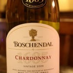 2009 Boschendal 1685 Chardonnay – Hello, It's Very Nice to Meet You
