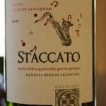 2010 Caligiore Staccato Malbec/Cabernet Sauvignon – Deliciously Fruity and Complex