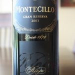 2003 Bodegas Montecillo Gran Reserva – Older and Much, Much Wiser