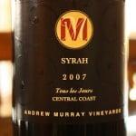 2007 Andrew Murray Vineyards Tous Les Jours Syrah – C'est Très Vrai!