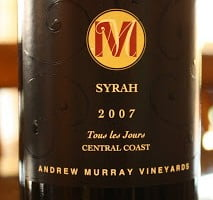 2007_Andrew_Murray_Vineyards_Syrah
