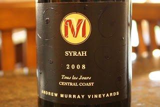 2008_Andrew_Murray_Vineyards_Tous_Les_Jours_Syrah