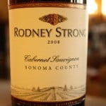 Rodney Strong Sonoma County Cabernet Sauvignon 2008 – Solid As A Rock