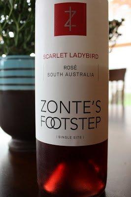 2010 Zonte's Footstep Scarlet Ladybird Rose - Bloody Good Drink!