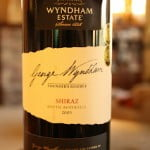 George Wyndham Founder's Reserve Shiraz 2005 – A Fall Classic