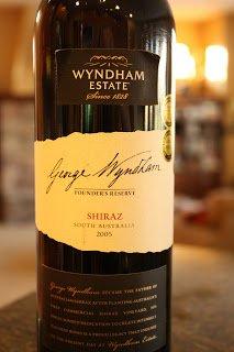 2005_George_Wyndham_Founders_Reserve_Shiraz