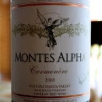 Montes Alpha Carménère 2008 – Tour of Chile Wine #4