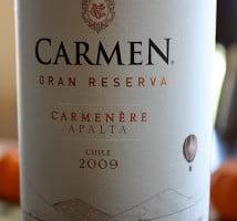 2009_Carmen_Gran_Reserva_Carmenere