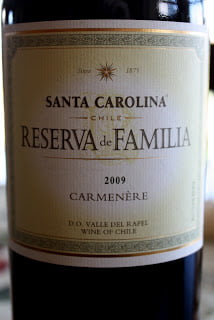 2009_Santa_Carolina_Reserva_de_Familia_Carmenere