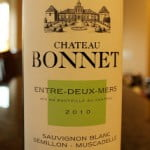 Château Bonnet Entre-Deux-Mers White 2010 – Better and Better With Every Sip