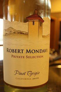 2010_Robert_Mondavi_Private_Selection_Pinot_Grigio