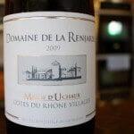 Domaine de la Renjarde Massif d'Uchaux Côtes du Rhône Villages 2009 – French For Yummy!