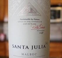 Santa Julia [+] Malbec – More Please! (Malbec Mania! Search For The Best Malbec Under $20)