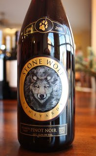 Stone Wolf Vineyards Pinot Noir Barrel Select Cuvée 2008 - Hunt For The Best Pinot Noir Under $20