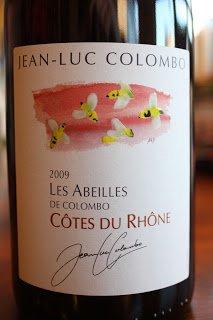 2009_Jean-Luc_Colombo_Les_Abeilles_Cotes_du_Rhone_Rouge