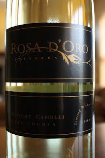 2009_Rosa_D'Oro_Muscat_Cannelli