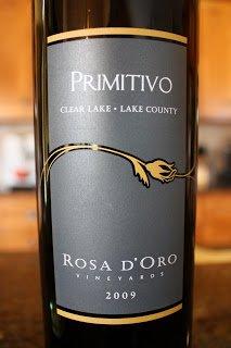 2009_Rosa_D'Oro_Vineyards_Primitivo