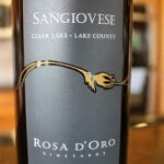 Rosa d'Oro Sangiovese – Fantastically Fruity and Food Friendly