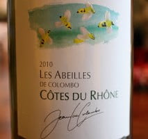 Jean-Luc Colombo Les Abeilles Blanc Côtes du Rhône 2010 – Simply Food Friendly
