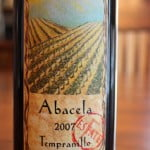 2007_Abacela_Estate_Tempranillo