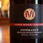Andrew Murray Vineyards Espérance 2008 – Big, Rich and Fruity