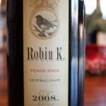 Robin K. Central Coast Pinot Noir 2008 – Hunt For The Best Pinot Noir Under $20