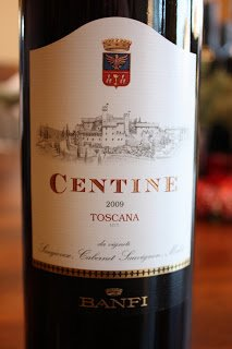 Banfi Centine Rosso Toscana 2009 - A Fantastic Fruit and Floral Fusion