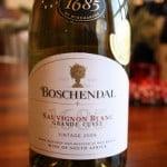 Boschendal 1685 Sauvignon Blanc Grande Cuvée 2009 – Complex and Creamy