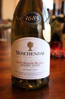 2009 Boschendal 1685 Grande Cuvee Sauvignon Blanc
