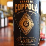 Francis Ford Coppola Diamond Collection Black Label Claret 2009 – A Capital British Blend From California