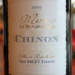 Guy Saget Estates Marie de Beauregard Chinon Cabernet Franc – A Divine Wine For Olive Aficionados