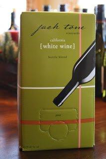 Jack Tone Vineyards White Wine Bottle Blend 3 Liter Bag In