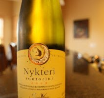 SantoWines Nykteri Santorini White Blend – Wines From Santorini
