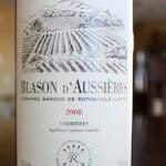 Blason d'Aussièries Corbières 2008 Domaines Barons De Rothschild (Lafite): Long Name = Good Wine?