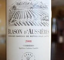2008_Blasons_dAussieries_Corbieres_Domaines_Barons_De_Rothschild