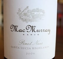 2009_MacMurray_Ranch_Santa_Lucia_Highlands_Pinot_Noir