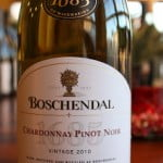 Boschendal 1685 Chardonnay Pinot Noir 2010 – A One-Of-A-Kind Combo You'll Want More Than Once