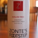 Zonte's Footstep Avalon Tree Cabernet Sauvignon 2010 – Rich, Fruity and Fantastic
