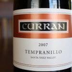 2007-Curran-Santa-Ynez-Valley-Tempranillo